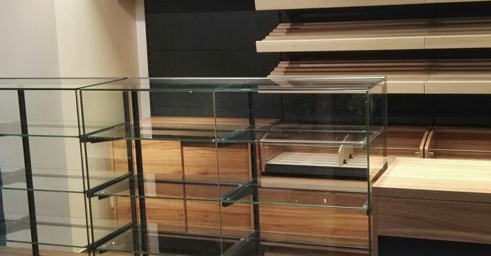 Realizacja półki, regały - Piekarnia / cukiernia